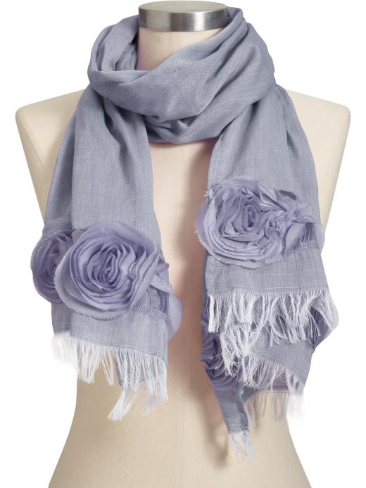 Old Navy Women's Gauzy Rosette Scarves