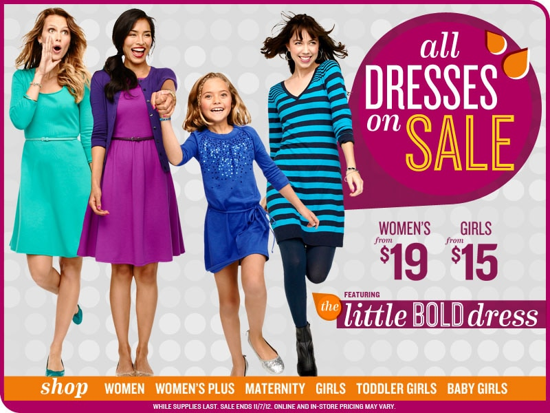 All Dresses on Sale