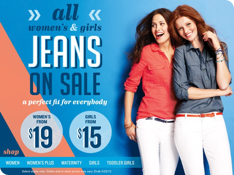 All Women's and Girls Jeans on Sale