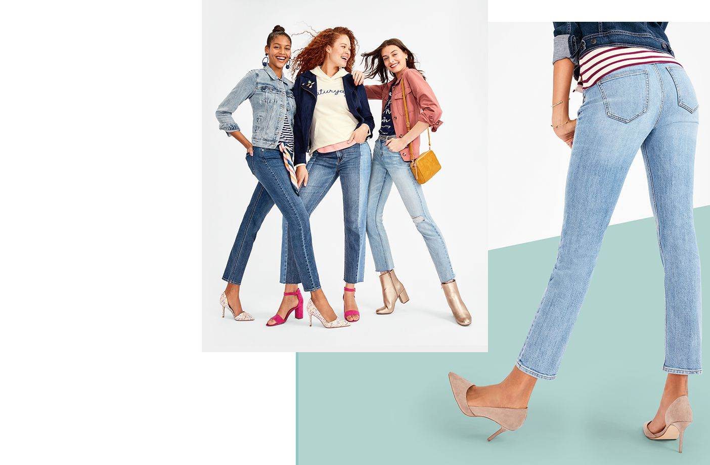 Up to 50% off all jeans on sale.