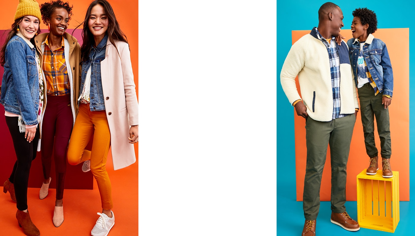 Up to 40% Off Pants, Jeans , Outerwear & Tees
