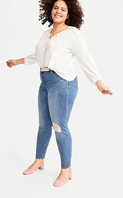 fe6ec110ff94 Women's Plus-Size Jeans | Old Navy
