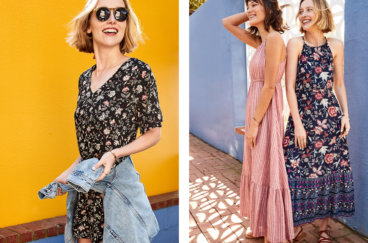 All Tops, Dresses & Jeans Up to 50% Off