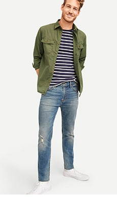 Men S Boot Cut Jeans Old Navy