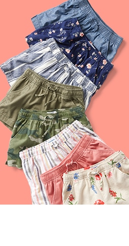 Shorts from $5