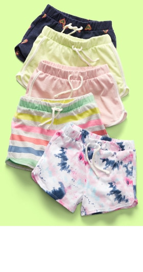 Shorts from $6