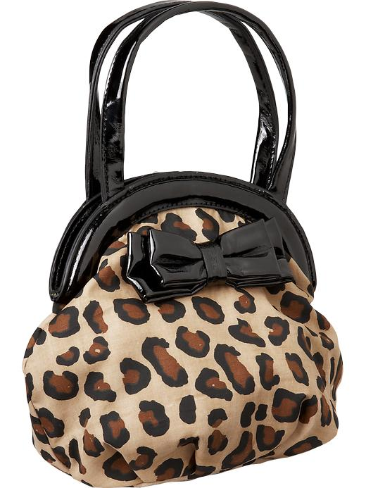 Old Navy Leopard Print Handbags For Baby