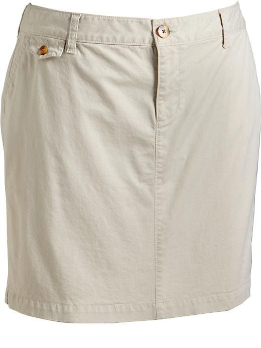 Old Navy Womens Plus Perfect Khaki Skirts
