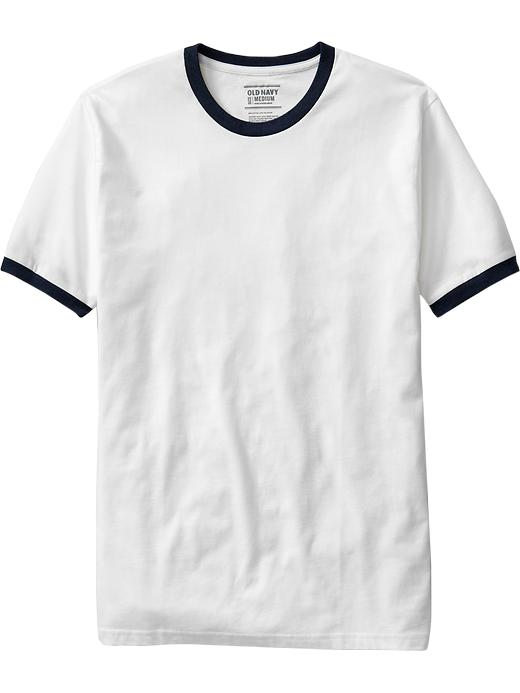 Old Navy Mens Classic Ringer Tee Shirt
