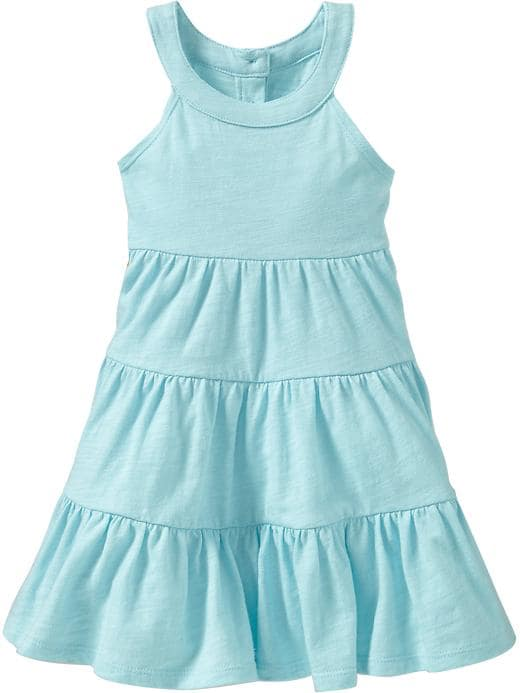 Old Navy Tiered Swim Cover Up Dress For Baby