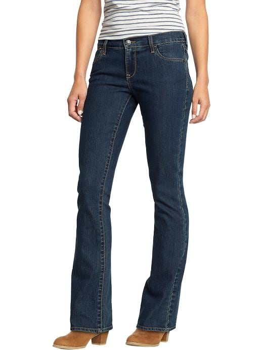 Old Navy Womens The Flirt Boot Cut Jeans