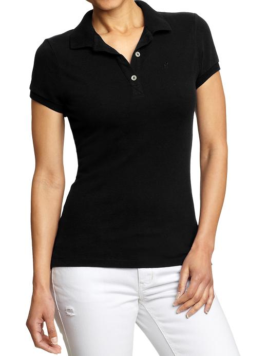 Old Navy Womens Pique Polo Shirt