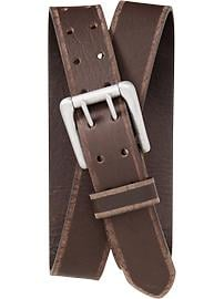 Men's Double-Prong Belts