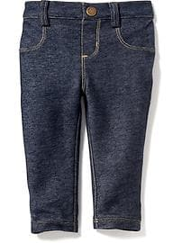 Stretch Denim Jeggings for Baby