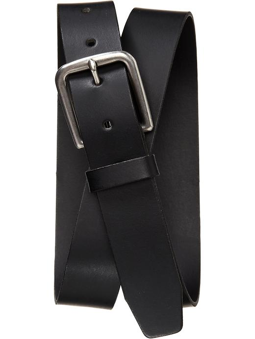 Old Navy Mens Leather D Ring Belts