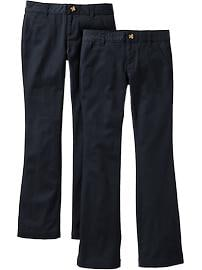 Girls Uniform Pant 2-Packs