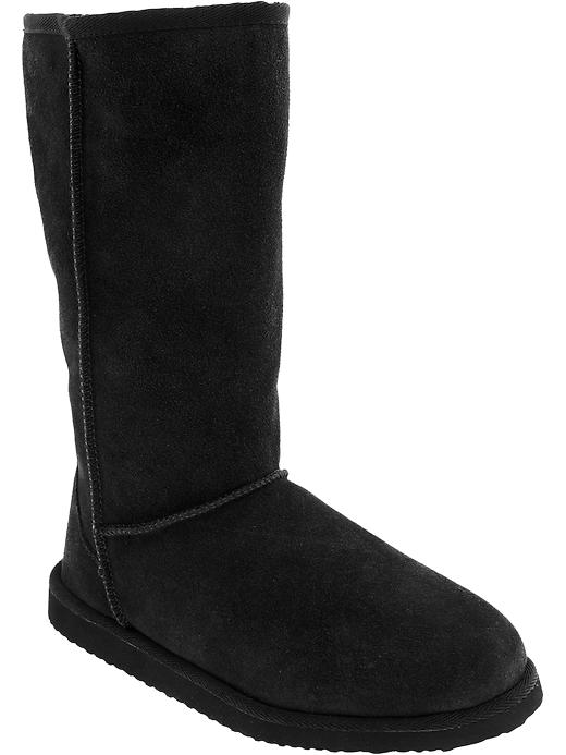 Old Navy Womens Tall Suede Boots