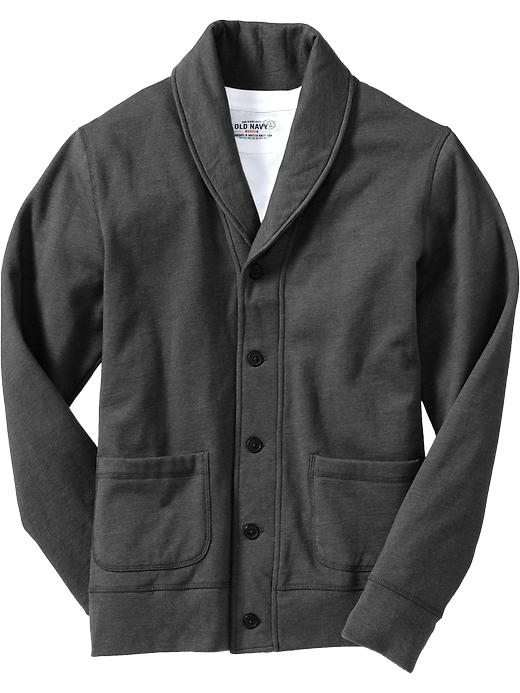 Old Navy Mens Shawl Collar Fleece Jackets