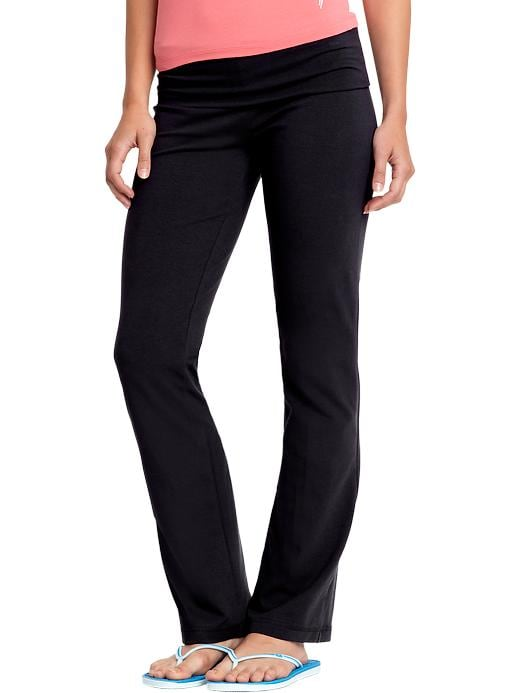 Old Navy Womens Fold Over Yoga Pants