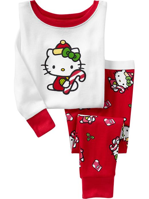 Old Navy Hello Kitty Holiday PJ Sets For Baby
