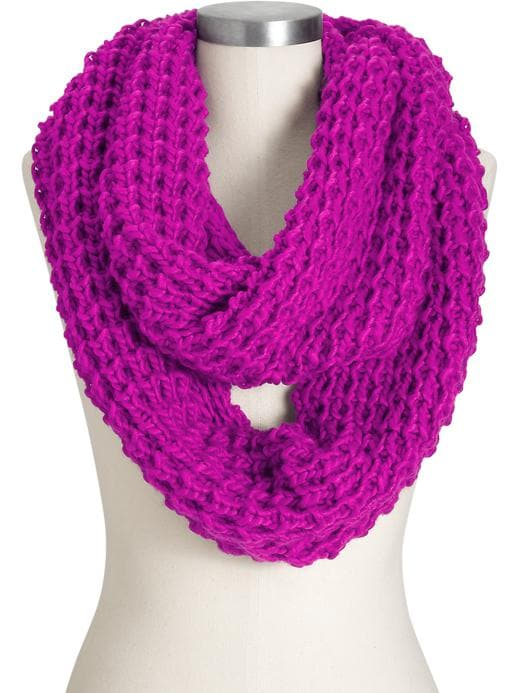 Old Navy Womens Chunky Infinity Scarves