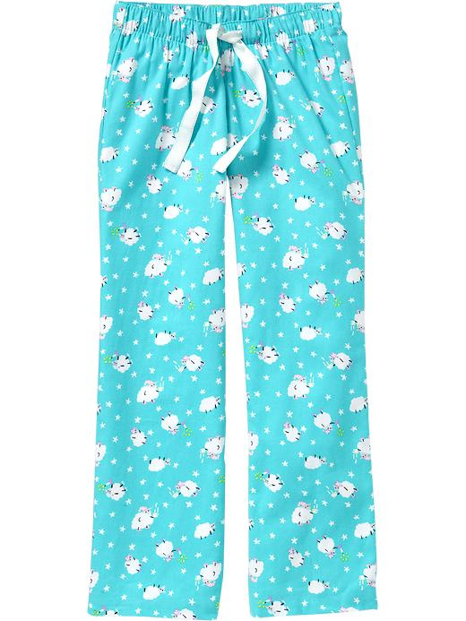 Old Navy Womens Printed Flannel PJ Pants