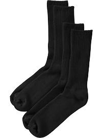 Men's Rib-Knit Sock 2-Packs