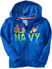 Sueded Graphic Hoodies for Baby