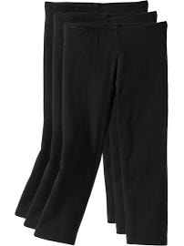 Girls Capri-Legging 3-Packs