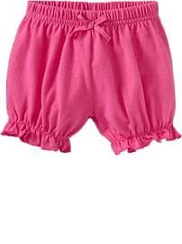 Ruffle-Trim Jersey Shorts for Baby