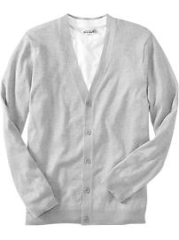 Men's Button-Front V-Neck Cardigans
