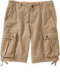 "Men's Linen-Blend Cargo Shorts (10 1/2"")"