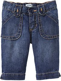 Skinny Denim Capris for Baby