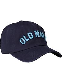 Women's Logo-Applique Baseball Caps