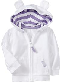 Lightweight Jersey Hoodies for Baby