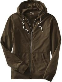 Men's Lightweight Jersey Zip Hoodies