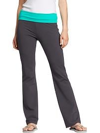 Women's Fold-Over Yoga Pants