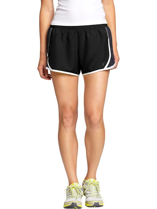 Old Navy Womens Side Mesh Running Shorts 3'