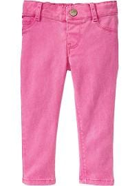 Pop-Color Skinny Pants for Baby