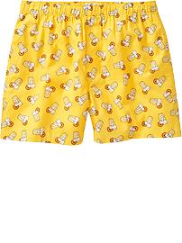 Men's Novelty-Print Boxers