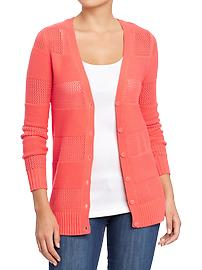 Women's Knit Boyfriend Cardis
