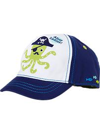 Pirate-Octopus Baseball Caps for Baby