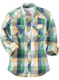 Men's Patterned Western Shirts