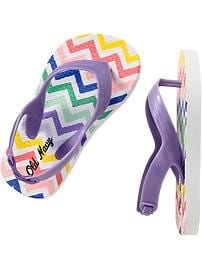 Patterned Flip-Flops for Baby