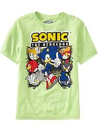 Boys Sonic the Hedgehog&#153 Tees