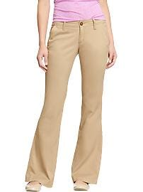 Women's The Diva Super-Flare Khakis