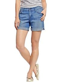 "Women's The Sweetheart Denim Shorts (5"")"