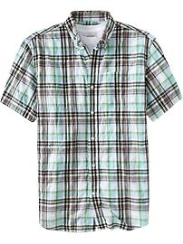 Men's Plaid Slim-Fit Shirts