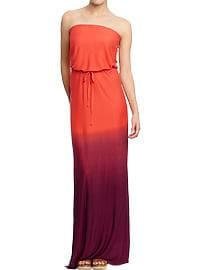 Women's Tube Maxi Dresses