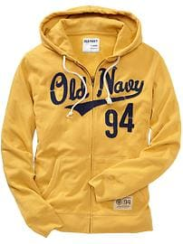 Men's Logo-Applique Zip-Front Hoodies